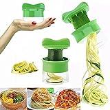 Paellasep - Strumento per affettare la frutta e la verdura, taglio a spirale, manuale, attrezzo da cucina