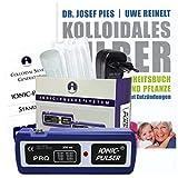 Ionic-Pulser® PRO Silber-Generator inkl. Buch kolloidales Silber... im Set
