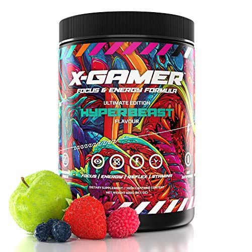 X-Gamer X-Tubz - Gaming Booster Pulver - Shake It Yourself - 600g ( 60 servings ) (Hyperbeast)