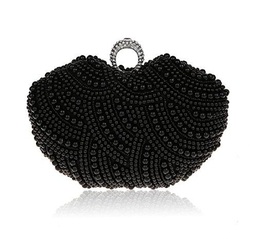 Mini Perlen Handtasche/ Strass Clutch Bag/Mode-Abendessen-Tasche-C C