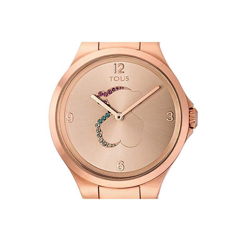 Reloj-tous-700350210-Motion-de-acero-IP-rosado-con-cristales-de-colores