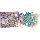 Orb Factory ORB11443 - Loisirs Créatifs - Disney Fée Clochette - Sticky Mosaiques Autocollantes aux Numéros