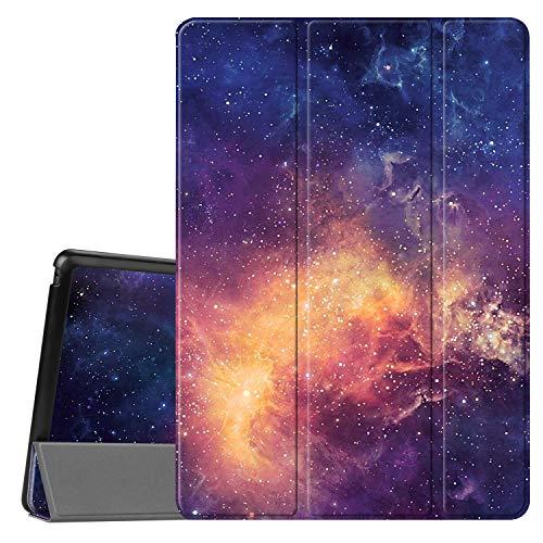 Fintie Lenovo Tab E10 Hülle - Ultradünne Superleicht Schutzhülle mit Standfunktion für Lenovo Tab E10 TB-X104F 10,1 Zoll Tablet 2019, die Galaxie