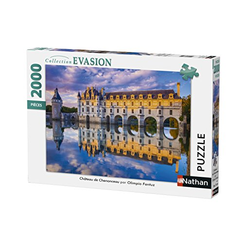 Nathan - Puzzle Schloss Chenonceau 2000 teilig, 87880
