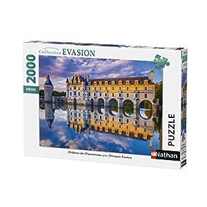Nathan-Puzzle 2000Piezas, Castillo de Chenonceau 87880