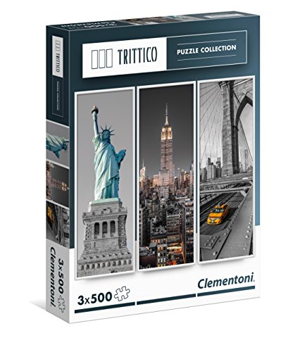 Clementoni - 3 500 Trittico Puzzle 39305 New York Pieces (XNUMX)