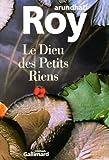 Le Dieu des Petits Riens - Gallimard - 23/04/1998