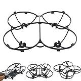 dreamsLE_Drohne Tello Zubehör Komplett Geschlossen kugelförmige Schutzhülle DJI Tello Drohne Zubehör Voll geschützt Fliegen Propellerabdeckung (Abdeckung)