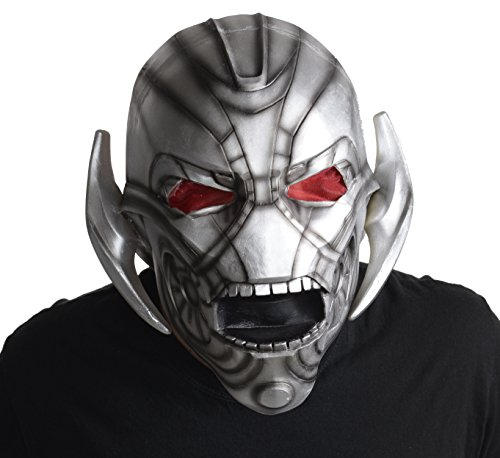 Marvel Avengers 2 Ultron Overhead Latex Costume Mask Adult One Size