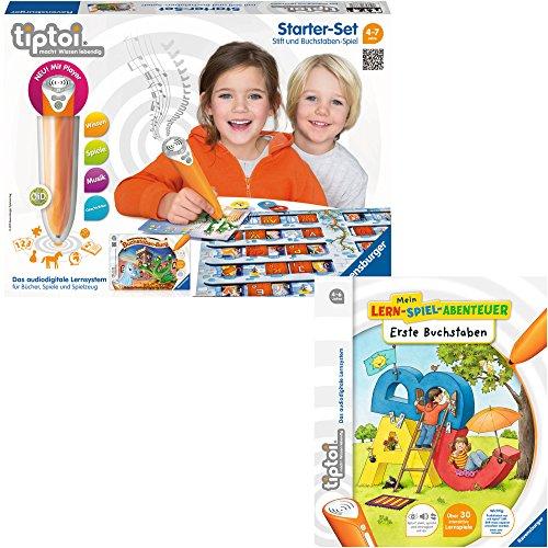 Preisvergleich Produktbild Ravensburger tiptoi® 2er Set Starter-Set: Stift und Buchstaben-Spiel + Buch Erste Buchstaben