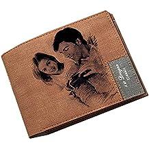 Carteras de Fotos Personalizadas Carteras de Tarjetas de crédito para Hombres Monedero de Bifold para Regalo