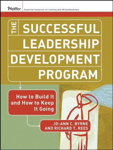 The Successful Leadership Development Program.: How to Build It and How to Keep It Going (J-B US non-Franchise Leadership) (English Edition)