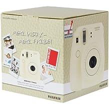 Fujifilm 70100106463 Instax Mini 8 - Cámara instantánea (62 x 46mm), color blanco (importado)