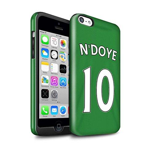 Officiel Sunderland AFC Coque / Brillant Robuste Antichoc Etui pour Apple iPhone 5C / Pack 24pcs Design / SAFC Maillot Extérieur 15/16 Collection N'Doye