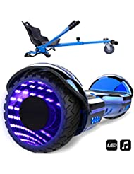 Markboard Patinete Eléctrico con Hoverkart, Scooter 6.5