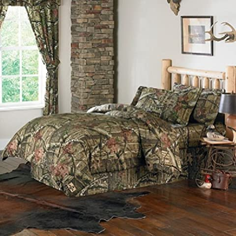 Motif Officiel Mossy Oak Break Up Infinity Couette Camouflage Chêne Moussu King (Biancheria Oak Bed)
