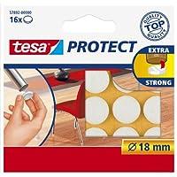 Tesa Feltrini adesivi, bianco, diametro 18 mm