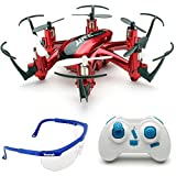 Haibei H20 Hexrcopter 2.4G 4 Canales 6 Axis Gyro Drone Rc Quadcopter 3D Modo sin Cabeza Rollover (Rojo)