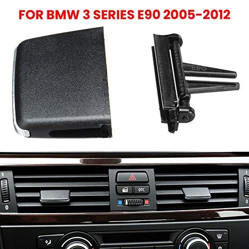 Yollhy Auto Klimaanlage Luftauslass, Front A/C Air Vent Outlet Registerkarte Clip Reparatursatz für BMW E90 325i 328i 330i 335i