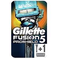 Gillette Fusion5 ProShield Chill Rasoir Pour Homme + 2 Recharges