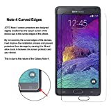 MOBIRUSH (Pack of 2) Premium Anti-Fingerprint Tempered Glass Screen Protector for Samsung Galaxy