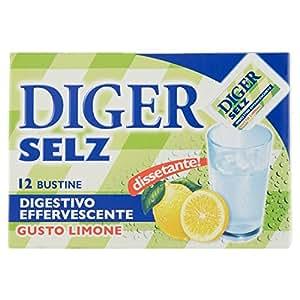 DIGER SELZ, Digestivo effervescente Gusto Limone 42 g x 12