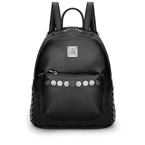 Dissa® S795 femme Sacs portés dos,23x26x13.5(BxHxT) Noir