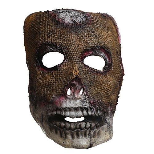 Máscara para mamá, diseño de calavera zombie