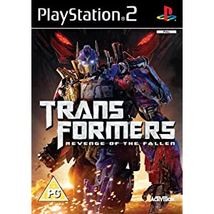 Transformers: Revenge of the Fallen - The Game (PS2)