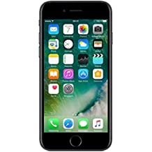 "Apple iPhone 7 - Smartphone DE 4,7"" con Tecnología IPS (Chip A10 Fusión, Cámara Dual 12 MP, IP67) Color Negro Brillante (Reacondicionado) (CPO)"