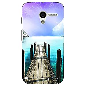 Jugaaduu Pathway to Heaven Back Cover Case For Moto X (1st Gen)