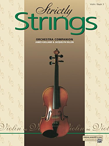 Strictly Strings, Book 3: For Violin