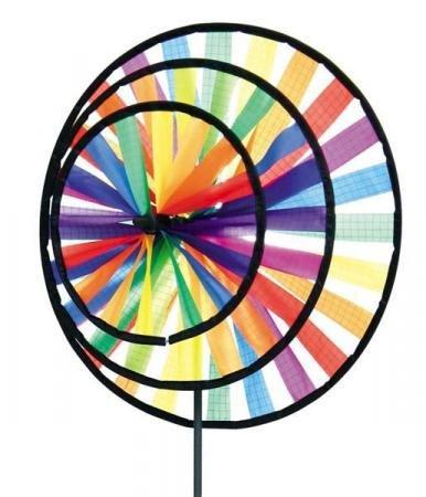 Windspiel | Windrad | buntes Windrad | Magic Wheel Triple