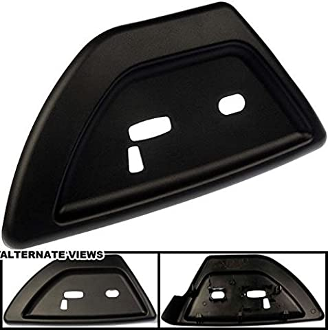 APDTY 035671 Power Seat Switch Panel Trim Bezel Black Plastic Fits Driver Front Left 2006-2007 Buick Rainier / 2006-2009 Chevrolet Trailblazer / 2006-2009 GMC Envoy / 2006-2009 Saab 9-7x (Replaces GM 19121427) by APDTY