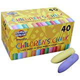 Art Straws AM552 Children's Chunky Chalks with Tapered Tops