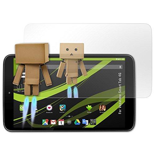atFolix Bildschirmfolie kompatibel mit Vodafone Smart Tab 4G Spiegelfolie, Spiegeleffekt FX Schutzfolie