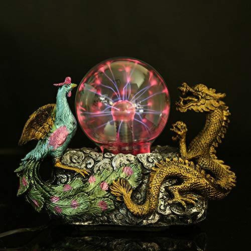 itz Plasma Ball Berührungsempfindliche Nachtlicht Lampe Schlafzimmer Home Parties Dekorationen Neuheit Spielzeug Chrismas Halloween Geschenk ()