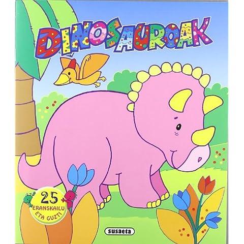 Dinosaurotxoak eranskailuekin (Pack de 4 libros)