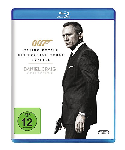 James Bond 007 - Daniel Craig Collection [Blu-ray]