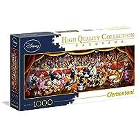 Clementoni 39445–Disney Panorama Collection Orquesta Puzzle, 1000piezas - Peluches y Puzzles precios baratos