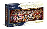 Clementoni 39445 – Disney Panorama Collection Orquesta Puzzle, 1000 piezas