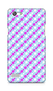 Amez designer printed 3d premium high quality back case cover for OPPO Neo 7 4G (Pink Pattern3)