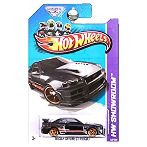 Hot Wheels Showroom - Nissan Skyline Gt-R (R34)