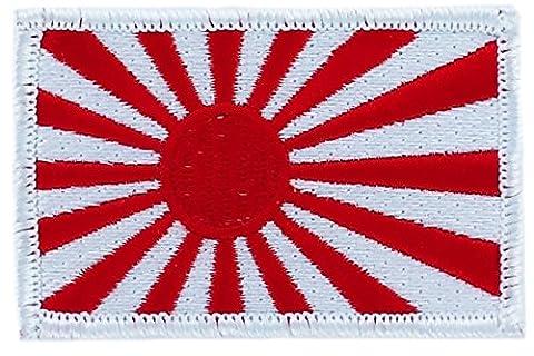 Patch écusson brodé drapeau japon japonais rising sun kamikaze thermocollant