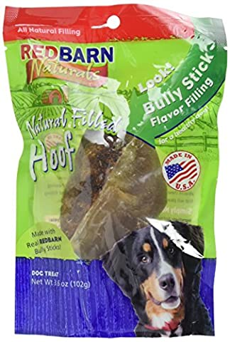 Redbarn Pet Natural Filled Hoof Beef Flavor Long-Lasting Dogs Chewable Treat