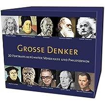 CD WISSEN - Große Denker - 20 Vordenker und Philosophen von Konfuzius bis Jean-Paul Sartre, 5 CDs