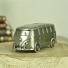 Edealing (TM) Metal City Autobús Car Money Box Banco de Monedas Ahorrar dinero Container Juguetes Artesanía Decoración Para Niños Niños
