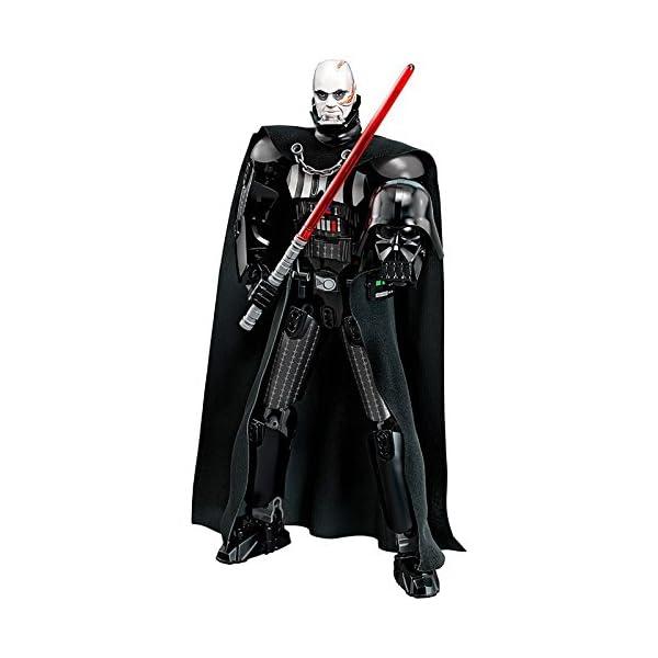 LEGO-Star Wars con structionDarth Vader, Multicolore, 75534 4 spesavip