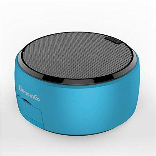 Bluetooth-Lautsprecher Drahtlose Minikarte bewegliche Karte U-Scheibe Subwoofer kreativer Handy-Standplatz, Blue