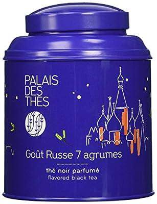 Palais Des Thés - Thé Noir Gout Russe Aux 7 Agrumes - Boîte Couleur 100g